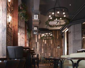 звукоизоляция, Москва, кафе, потолок