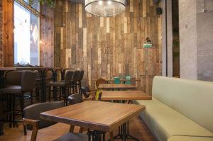 шумоизоляция, потолок, кафе