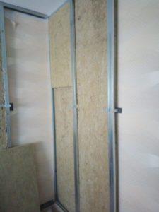 шумоизоляция, стена, вата