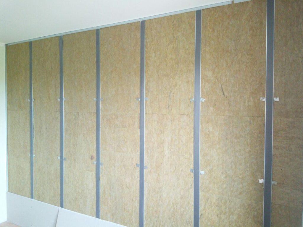 этапы шумоизоляции стены